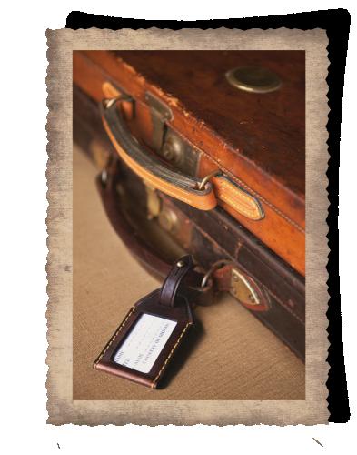 The Matjiesfontein Gun Case & Luggage Tag
