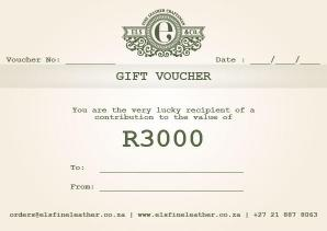 R3000 Gift Voucher